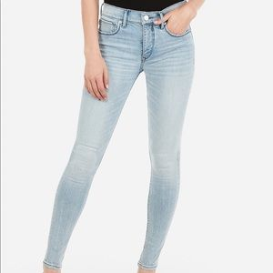 NWOT Express Mid Rise Denim Perfect Curve Jeans